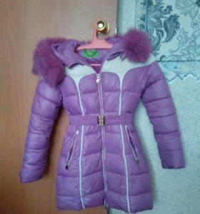 Куртка для девочки,зимняя
