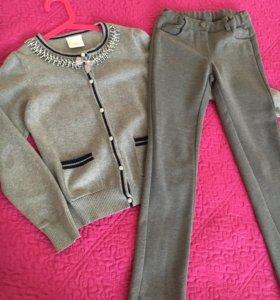 Школьная форма р.128-134+куртка Zara