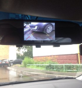 экран-зерколо для камеры заднего вида