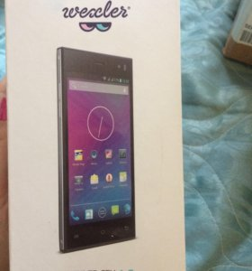 Коробка от телефона Wexler Zen4.5