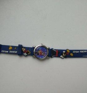Часы детские с Mickey Mouse