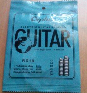 Струны для электрогитары Orphee