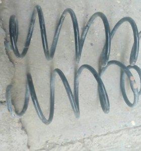 Пружины передние на гранту завод
