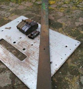 торм колодки лист рессоры на бычок зил
