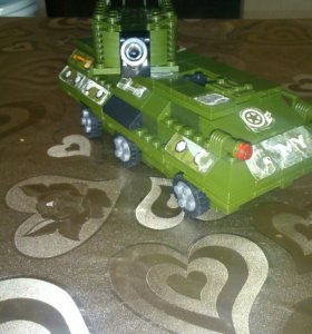 Танк Лего