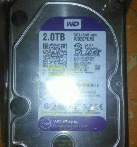 2 ТБ Жесткий диск WD Purple