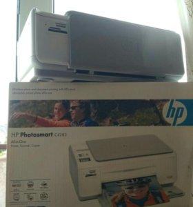 Принтер сканер HP Photosmart C4283