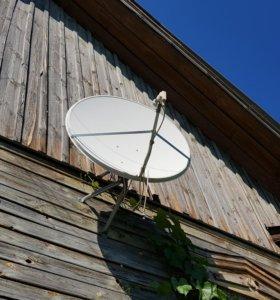 Спутниковая тарелка D1.2м