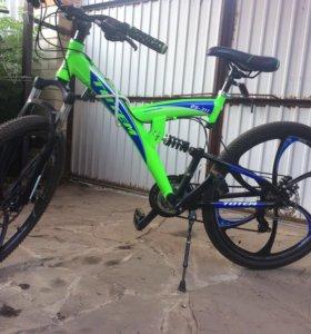 Велосипед Totem с литыми дисками