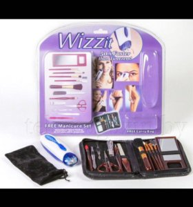 Эпилятор Wizzit+маникюрный набор