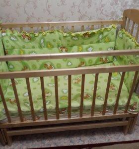 Кроватка детская (полный комплект)