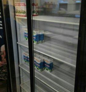 Холодильник шкаф, двухдверный