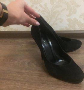 Туфли, замша натуральная!