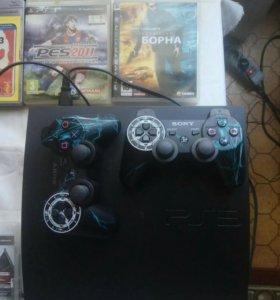 Sony Plastation 3 + игры