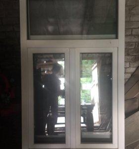 Окна пластиковые 2 шт