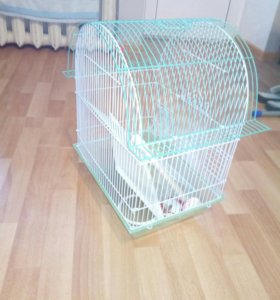 Клетка для попугая или мелкой птички.