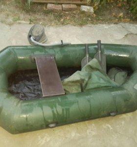 Лодка надувная одномесная