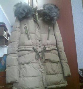 Зимняя куртка (наподобии парка)