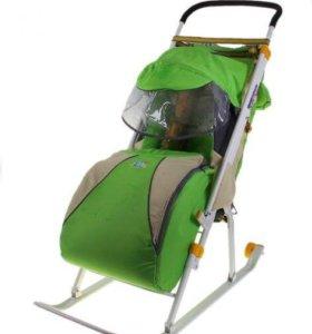 Санки-коляска Ника Детям 3