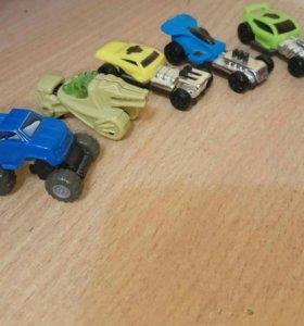 Машинки из киндера