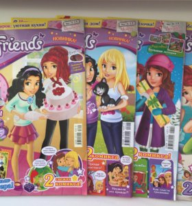 Журналы Lego Friends