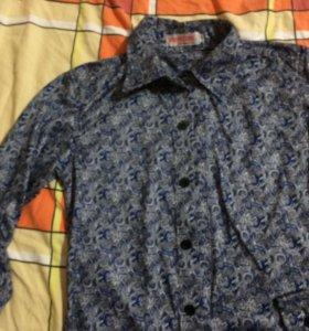 Рубашка детская рост 130/134