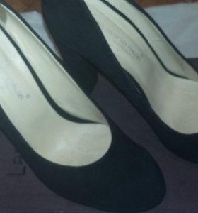 Туфли замша 39 -40 размер