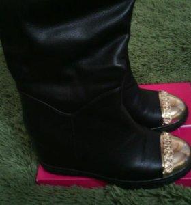 Модные сапожки по распродаже!!!