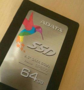 Жесткий диск SSD 64GB