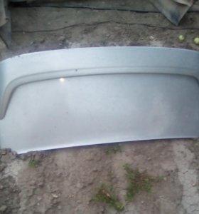 Багажник и бампер на ВАЗ 2115
