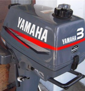 Лодочный мотор Yamaha 3 л.с