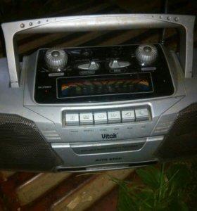 Магнитофон+радио