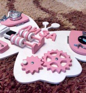 Бизиборд развивающие игрушки