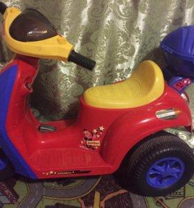 Продам электромобиль Мотоцикл для детей