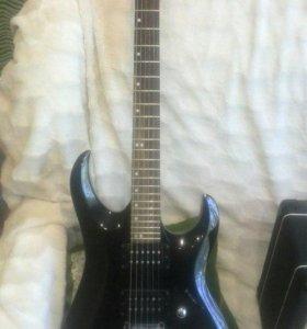 Гитара и Комбик в отличном состоянии!