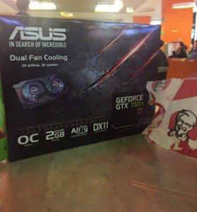 Видеокарта Geforce gtx 750 ti asus