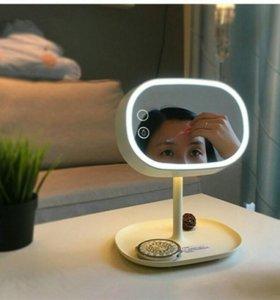 3 в 1: зеркало для макияжа