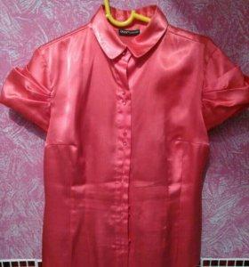 1. Блузка шелковая OGGI