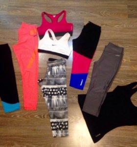 Одежда для фитнеса Reebok, Adidas, Nike
