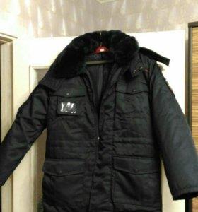 Новые полицейские куртка и штаны зимние