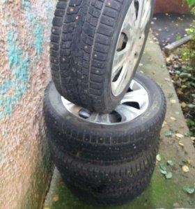 Продаю шины R16 Dunlop 205/55