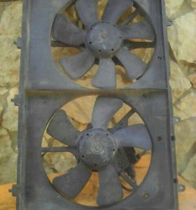 Вентилятор на мицубиси оутландер 2003