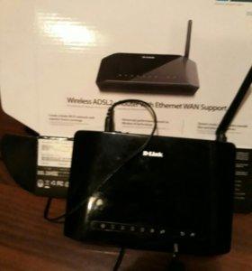 D-Link Роутер+Wi-Fi