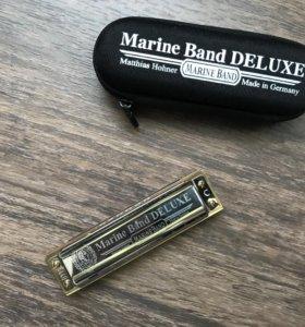 Губная гармошка Hohner Marine Band Deluxe