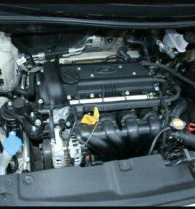 Двигадель от Hyundai Solaris