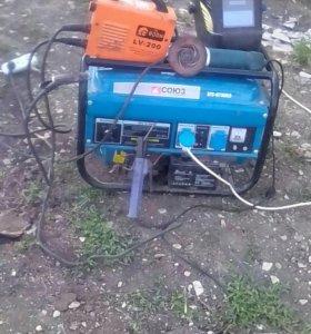 Работы там где нет электричества.
