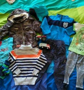 Куртка, джинсы + пакет одежды