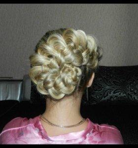 Прически - плетение кос