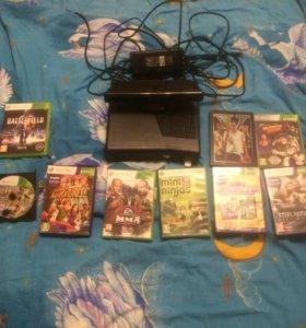 Xbox 360 +Kinect +12игр