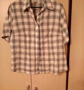 Рубашка, блузка, размер 50-52